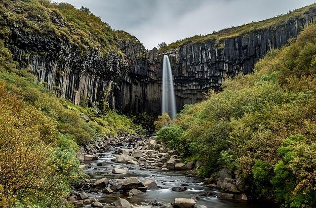 Piekno natury Islandii