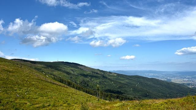 panorama Beskidu Śląskiego