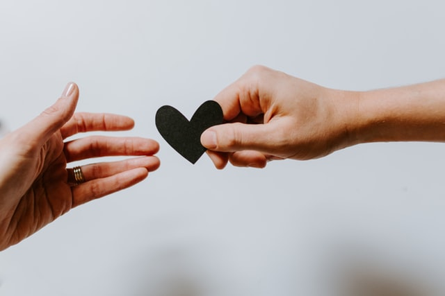 Dłonie i serce