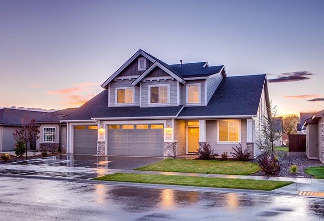 Dom na przedmieściach